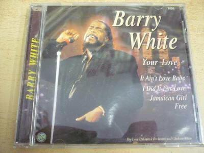CD BARRY WHITE / Your Love