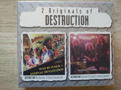 CD BOX-DESTRUCTION-Sentence Of Death/Infernal Overkill+Mad Butcher