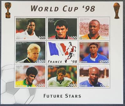 Ghana 1997, MS fotbal 98 tiskový list