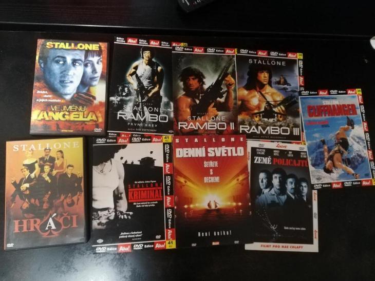 MIX DVD FILMŮ - 9 KS SILVESTER STALLONE - Film