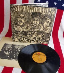 🔴 LP: JETHRO TULL - STAND UP, Pop Up obal, jako nová MINT!!! USA