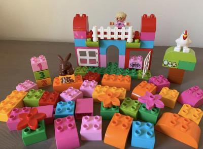 Lego Duplo 10571 - růžový set kostek