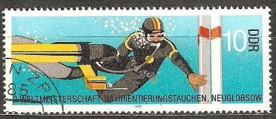 Sport DDR 1985 potapanie
