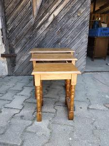 Staré 3 VKLÁDACÍ stolečky
