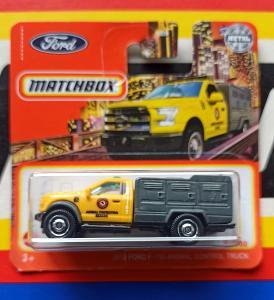 Ford F - 150 Animal Control Truck 2010 MB 72/100 Matchbox