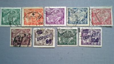 známky doplatní 1926