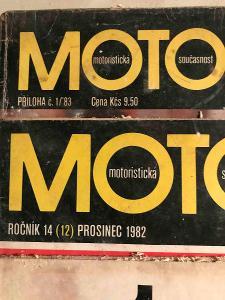MOTOR ČASOPOS 5 kusů