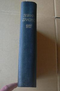 SBÍRKA ZÁKONŮ - 1927