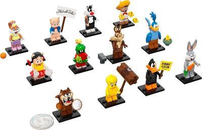 Originální LEGO 71030 Looney Tunes - 12 kompletních panáčků
