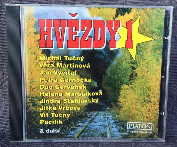 CD - Hvězdy 1. , CD V PĚKNÉM STAVU - Hudba