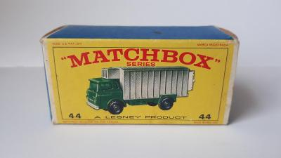 Matchbox originál krabička E 4 Rw No 44 Refrigerator Truck