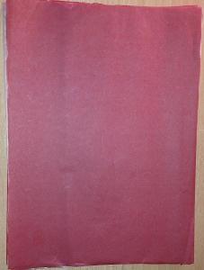 A4 propisovací papír kopírák červený