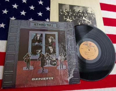 🔴 LP: JETHRO TULL - BENEFIT, jako nová MINT!!!, 2.vyd. Artisan USA