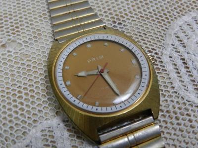 Pánské náramkové hodinky Prim zachovalý stav