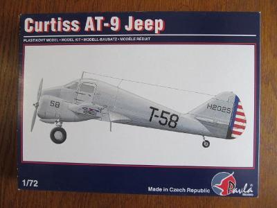 Curtiss AT-9 Jeep Pavla models 1:72