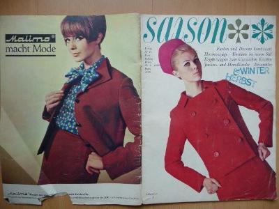 Německý časopis - SAISON - číslo 3. z roku 1966