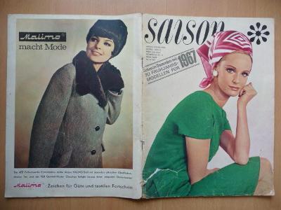 Německý časopis - SAISON - číslo 4. z roku 1966