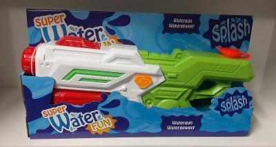 Super velká vodní pistole Water Fun. Délka 48 cm. Nová.