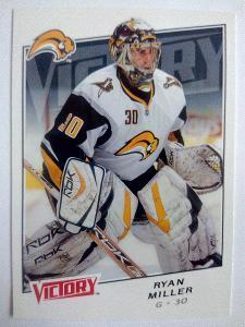 Ryan Miller, Buffalo Sabres, #172, UD Victory 2008/09