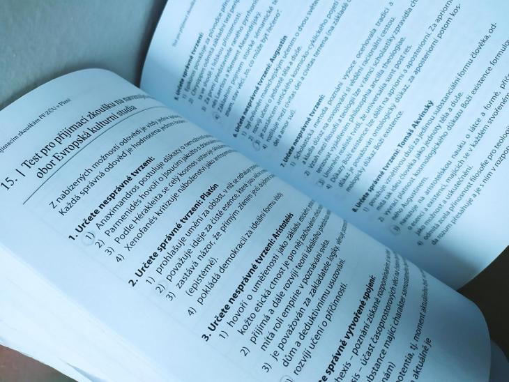 Kniha Testy k přijímacím zkouškám - fakulta filozofická (ZČU) - Knihy