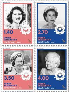 Nový Zéland 2021 Známky ** Královna Alžběta II.