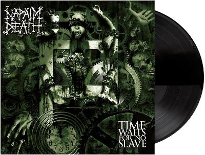 NAPALM DEATH - Time waits for no slave-180 gram vinyl 2021
