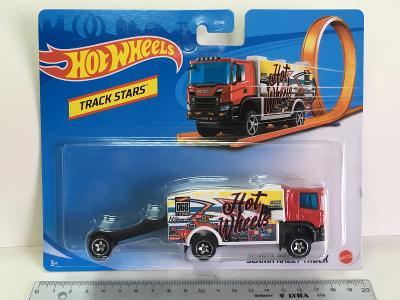 Scania Rally Truck - Hot Wheels - Track stars (E2-x)