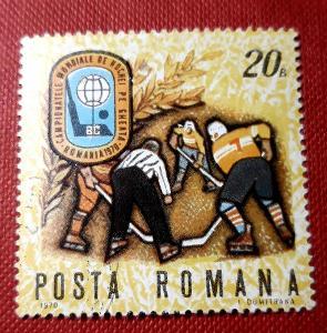 SPORT-ROMANA-Rumunsko,HOKEJ, VYPRODEJ od 1 Kč / Z-907