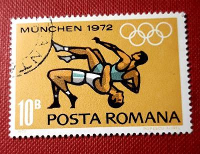 SPORT-ROMANA-Rumunsko,Olympijské hry, VYPRODEJ od 1 Kč / Z-913