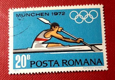SPORT-ROMANA-Rumunsko,Olympijské hry, VYPRODEJ od 1 Kč / Z-914