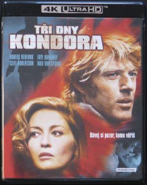 Tři dny Kondora 4K UHD + Blu-Ray (BEZ CZ)