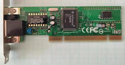 Síťová karta Infineon AN983B SMC1233A-TX 10/100Mbit/s PCI