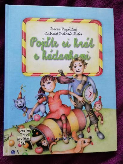 Pojďte si hrát s hadankami - Zuzana Pospíšilová  - Knihy