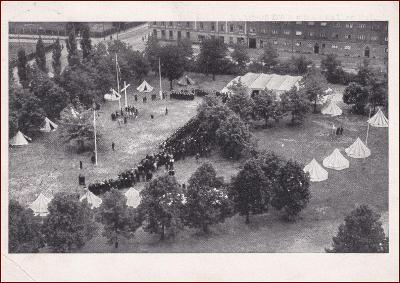 Deutsches Reich * KWG Stadt München 1933, propaganda (válka)