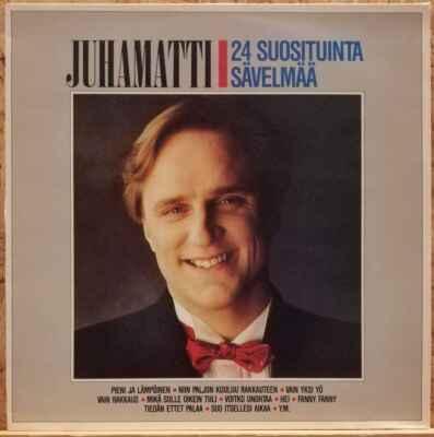2LP Juhamatti – 24 Suosituinta Sävelmää, 1985 EX
