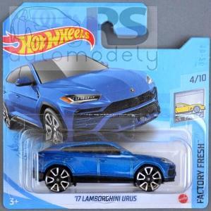 Hot Wheels Lamborghini Urus 2017 - poštovné v popise!