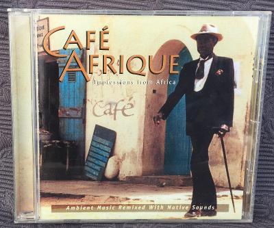CD - Cafe Afrique  , CD V PĚKNÉM STAVU
