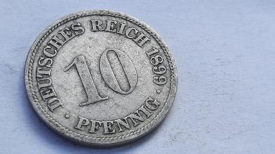 10 Pfennig 1899 F