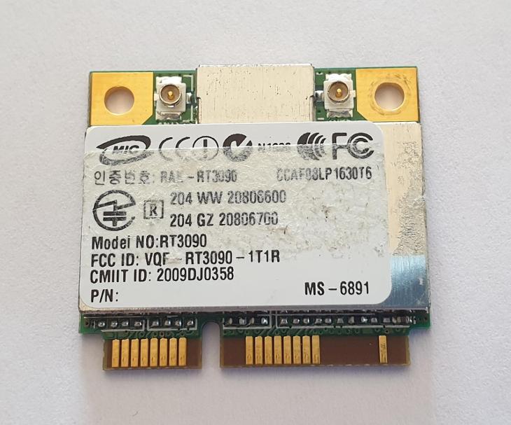 Wifi modul RT3090 / MS-6891 z MSI CX600X-253CZ - Notebooky, příslušenství
