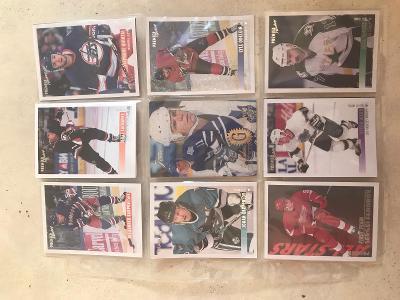 Hokejové karty 18ks