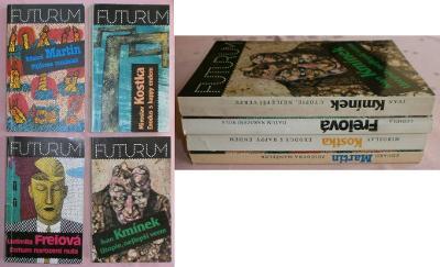 Freiová: Datum narození nula, Kmínek: Utopie, nejlepší verze, 4 knihy