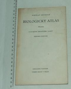 Biologický atlas - M. Fendrych - příloha k přehledu biologie