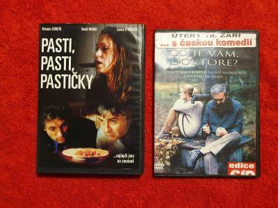 DVD - Krásné 2 české filmy - Od 1 Koruny