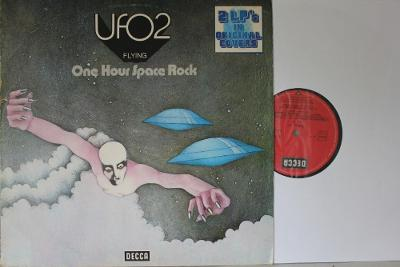 UFO 2 - Flying - One Hour Space Rock And UFO 1 2xLP 1973 vinyl NM