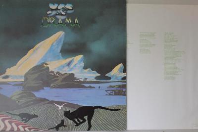 Yes – Drama LP 1980 vinyl NL 1.press VG+
