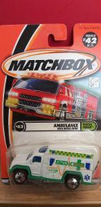 MATCHBOX ´´ AMBULANCE ´´ 2001 #42