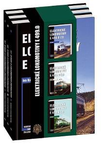 Elektrické lokomotivy řady E 499.0 - sada