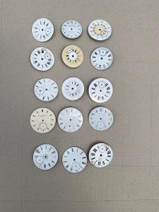 Staré smaltované ciferníky