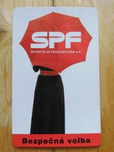 1996 - SPF spořitelní penzijní fond