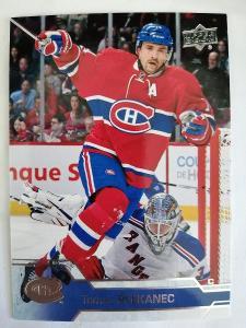 Tomas Plekanec #104 Montreal Canadiens 2016/2017 Upper Deck